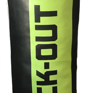 Боксерский Мешок Knock-Out PU 130*40 Зелено/Черный