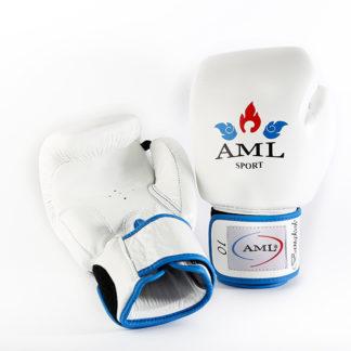 Боксерские Перчатки AML Bangkok Белые