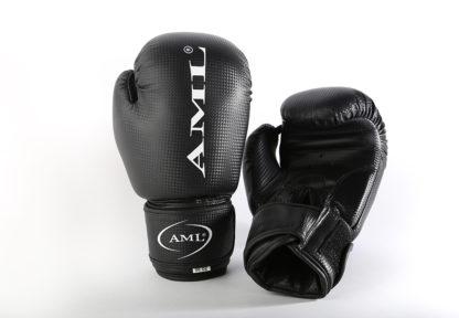 Боксерские Перчатки AML Sport PVC Черные