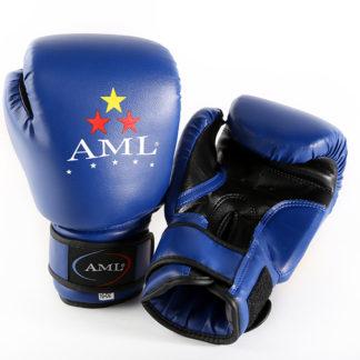 Боксерские перчатки AML STAR Синего Цвета