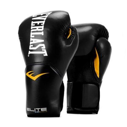 Боксерские Перчатки Everlast Elite Pro Style Черные