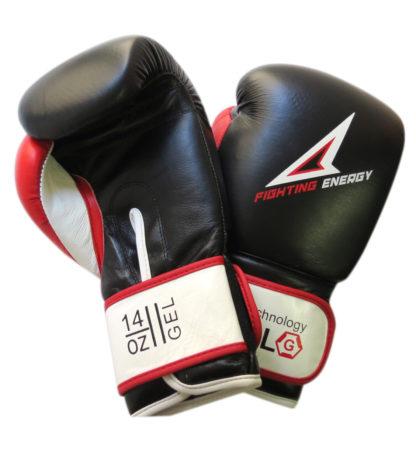 Боксерские Перчатки Fighting Energy Gel Черно-Белые