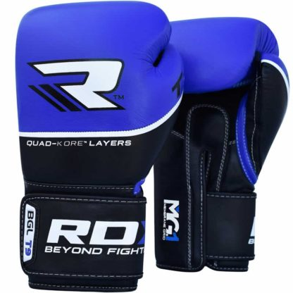 Боксерские Перчатки RDX T9 Синие