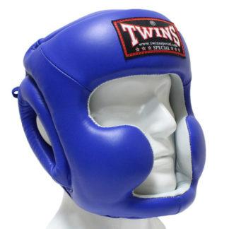 Боксерский Шлем Twins Special HGL-3 Синий