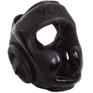 Боксерский Шлем Venum Elite Черный