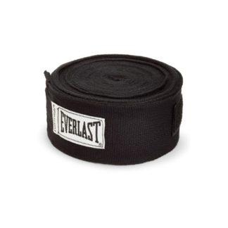 Боксерские Бинты Everlast 4,5 м. Черные