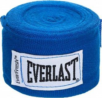 Боксерские Бинты Everlast Elastic 2,5 м Синие