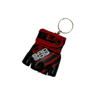 Брелок ММА Перчатка Bad Boy Черно-Красная