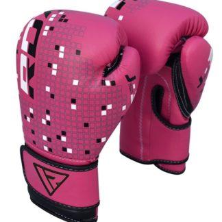 Детские Боксерские Перчатки RDX J-3P Розовые
