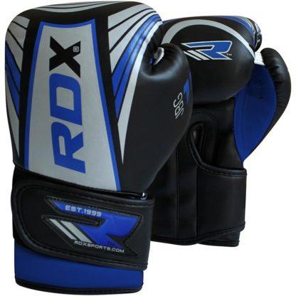 Детские Боксерские Перчатки RDX JBG-1U Синие