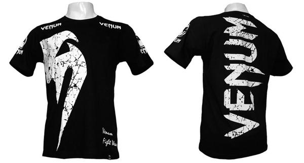 Футболка Venum Giant Черно-Белая