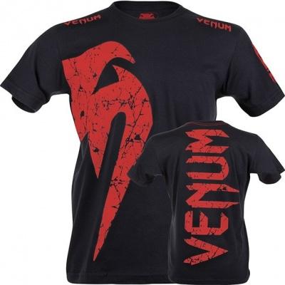 Футболка Venum Giant Черно-Красная