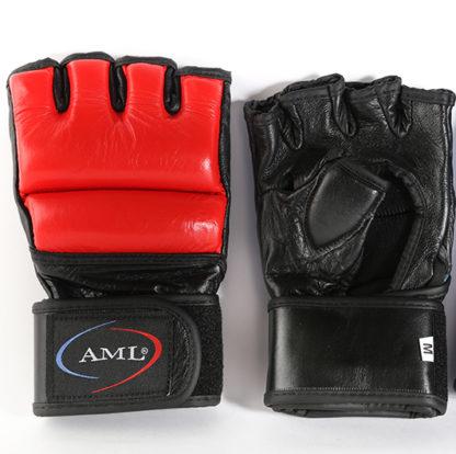 Перчатки ММА AML Pro - Kрасные