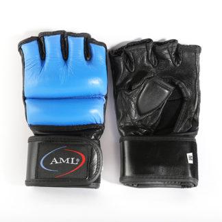 Перчатки ММА AML Pro - Синие