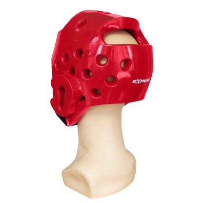 Шлем Тхэквондо Fight Expert Красный