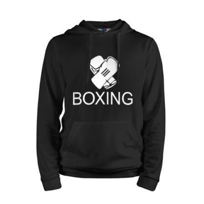 Толстовка Boxing - Черная