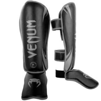 Защита Ног Venum Challenger Черно-Серая