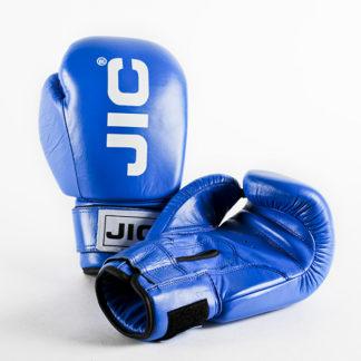 Боксерские перчатки Jic Кожаные Синие