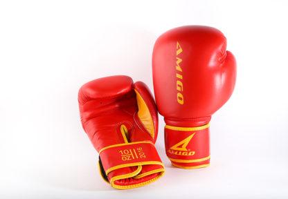 Боксерские перчатки Amigo Красные