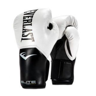 Боксерские Перчатки Everlast Elite Pro Style Белые