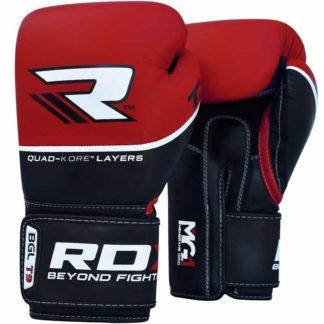 Боксерские Перчатки RDX T9 Красные