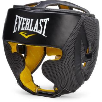 Боксерский шлем Everlast Evercool Кожанный