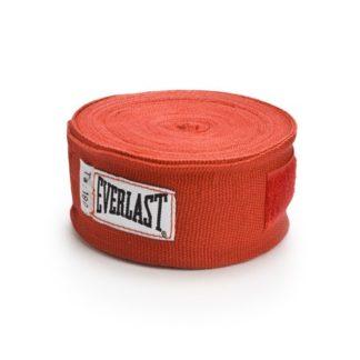 Боксерские Бинты Everlast 4,5 м. Красные.