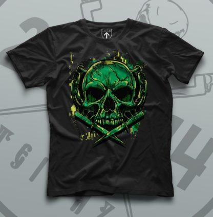 Футболка Teiwaz Green War Skull
