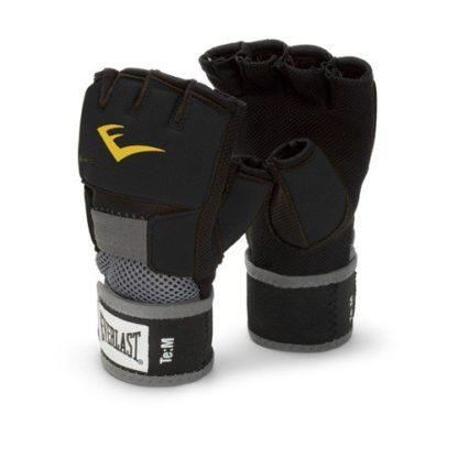Боксерские Бинты-Перчатки Гелевые Everlast, Черные.
