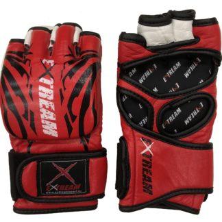 Перчатки Для ММА Extream Красно-Черные