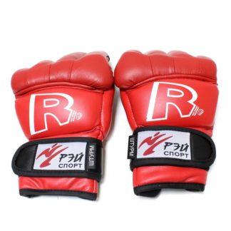 Перчатки-Краги Для Армейского Рукопашного Боя Красного Цвета