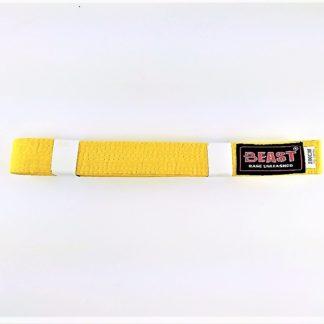 Пояс Для Единоборств BEAST Желтый 280 см
