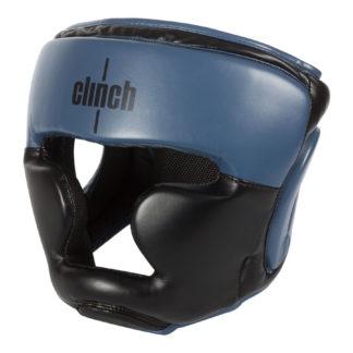 Шлем Боксерский Clinch Punch Full Face Черно-Синий