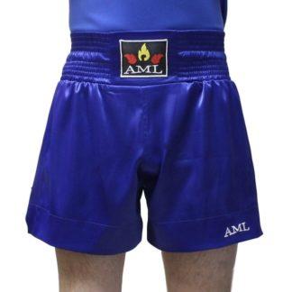 Шорты Для Тайского Бокса AML - Синие