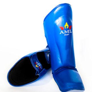 Защита Голень-Стопа AML Thai Синяя