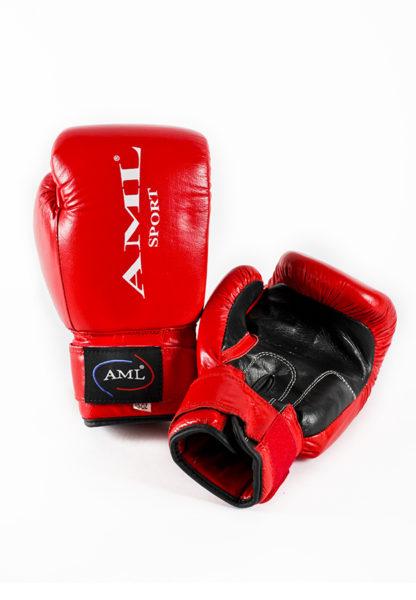 Боксерские перчатки AML SPORT Красного Цвета