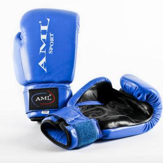 Боксерские перчатки AML SPORT Синего Цвета