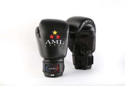 Боксерские перчатки AML STAR Черного Цвета