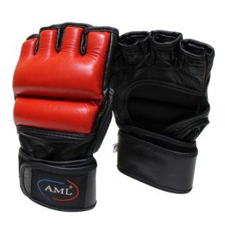 Перчатки Для ММА AML Красного Цвета